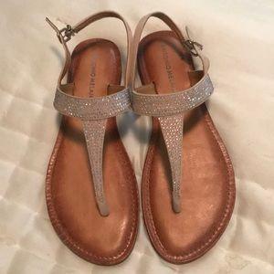 Antonio Melani Leather Sandals